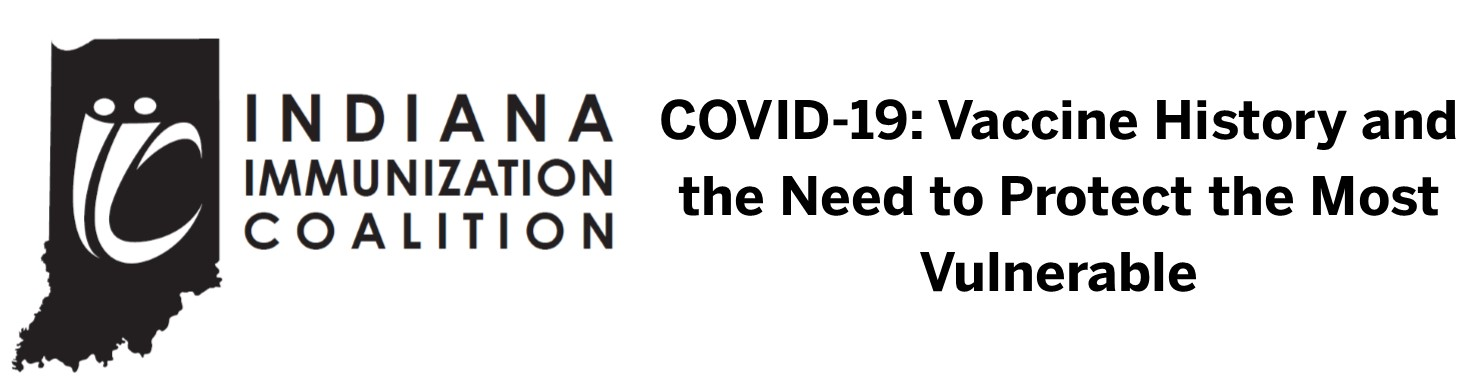 COVID-19: Vaccine History and the Need to Protect the Most Vulnerable Webinar Banner