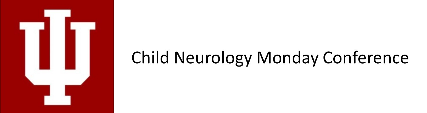Child Neurology Monday Conference Banner