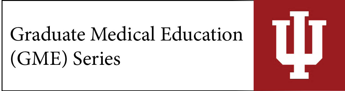 Graduate Medical Education (GME) Series Banner