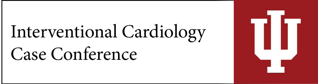 Interventional Cardiology Case Conference Banner