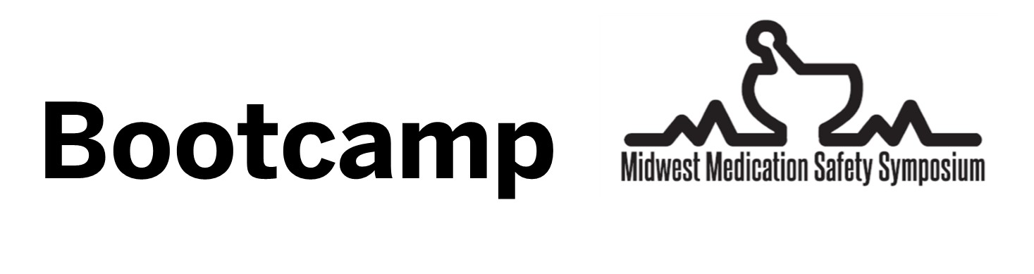 Midwest Medication Safety Symposium (M2S2) Bootcamps Banner