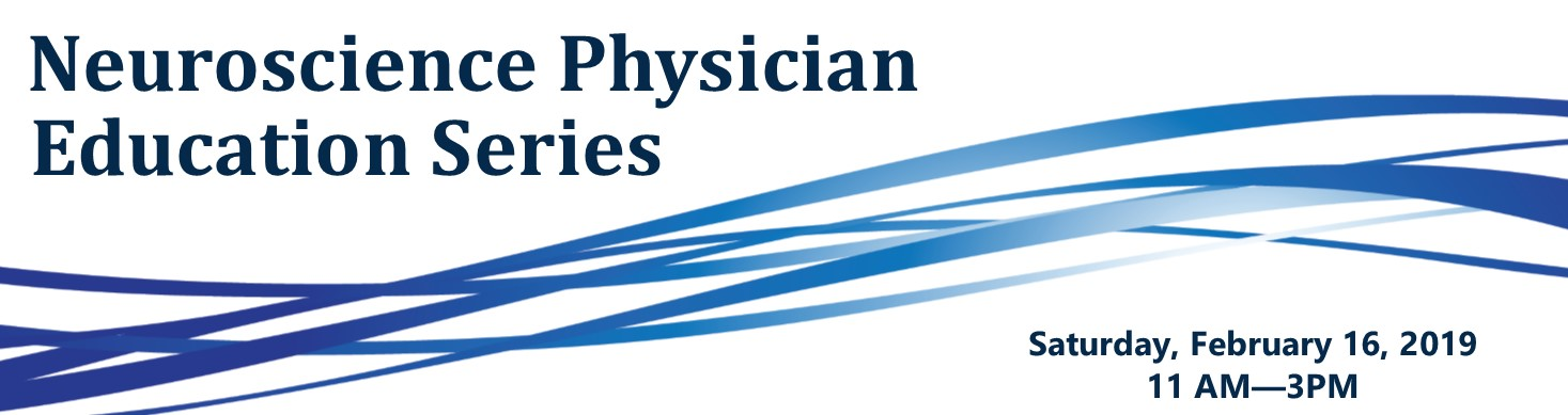 Neuroscience Physician Education Series Banner