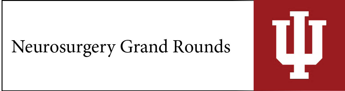 Neurosurgery Grand Rounds Banner