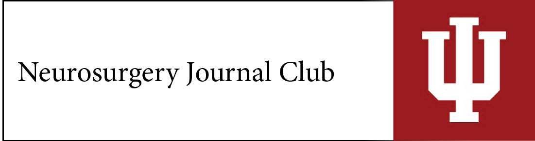 Neurosurgery Journal Club Banner