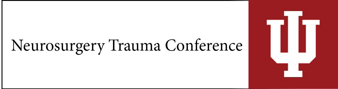 Neurosurgery Trauma Conference Banner
