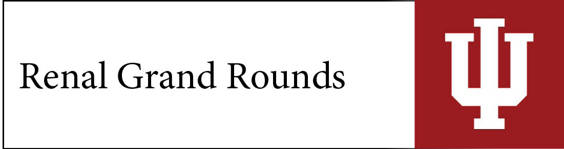 Renal Grand Rounds Banner