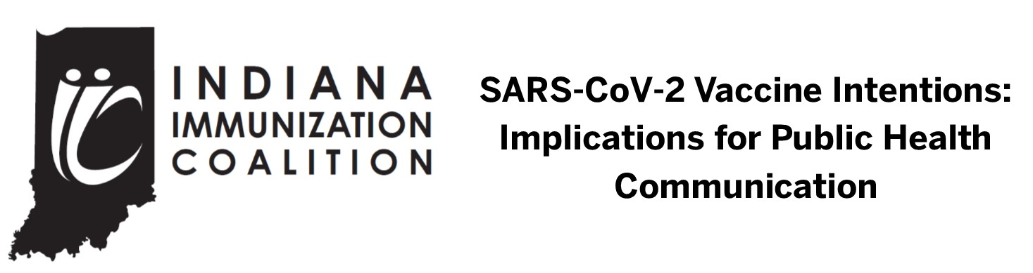 SARS-COV2 Vaccine Intentions: Implications for Public Health Communication Webinar Banner