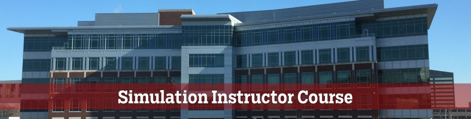 Simulation Instructor Course Banner