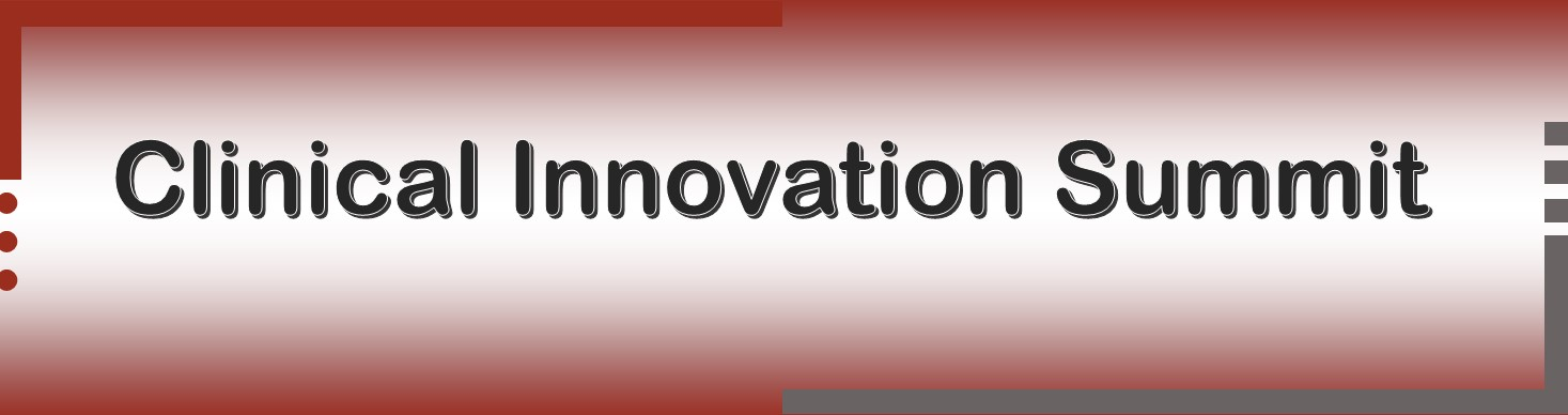 Clinical Innovation Summit - May 2021 Banner